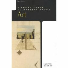 A Short Guide to Writing About Art, Sylvan Barnet
